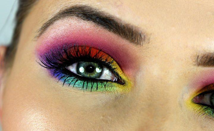 Eye make up rainbow…trucco luminoso e all'insegna della vivacità