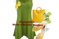Outfit aperitivo estate...in verde e giallo